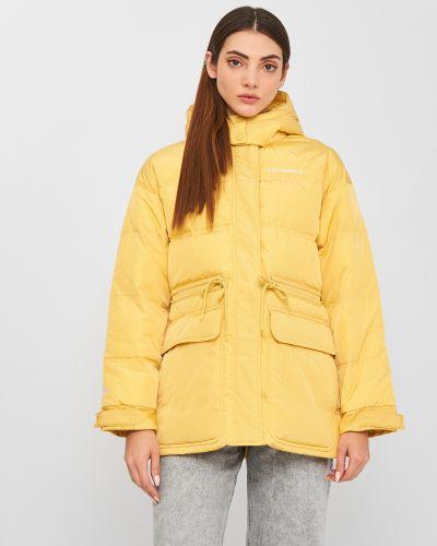 Пуховая куртка - золотая Converse