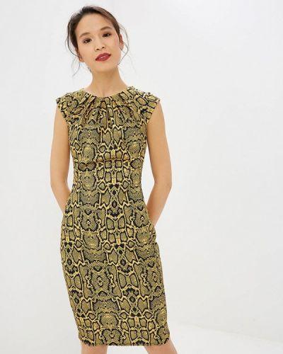 Желтое платье City Goddess