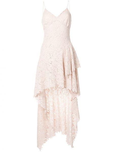 Платье розовое на бретелях Philosophy Di Lorenzo Serafini