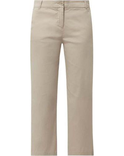Beżowe spodnie bawełniane Christian Berg Women