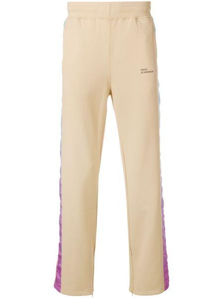 Beżowe spodnie Drole De Monsieur