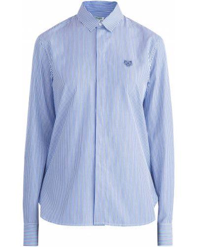 Блузка с длинным рукавом классическая приталенная Kenzo
