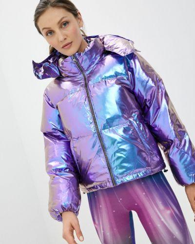 Фиолетовая утепленная куртка Boxeur Des Rues
