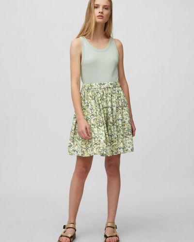 Klasyczna spódnica mini z wiskozy bez zapięcia Marc O Polo