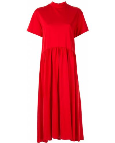 Платье мини короткое - красное Le Ciel Bleu