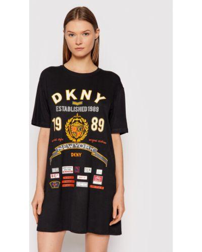 Koszula nocna - czarna Dkny