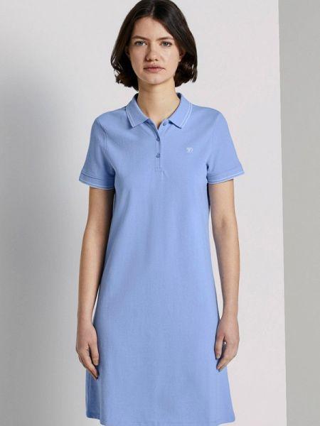 Джинсовое платье футболка весеннее Tom Tailor Denim