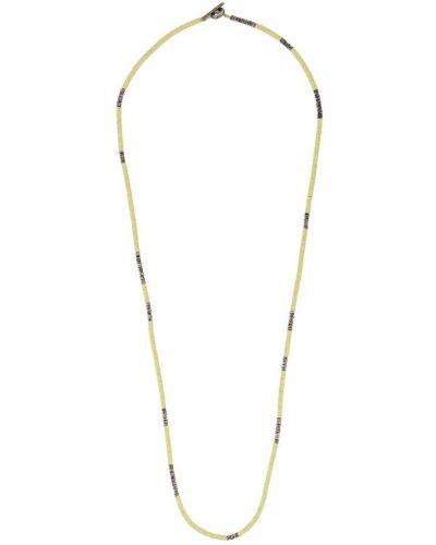 Ожерелье с бисером серебряный M. Cohen
