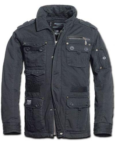Куртка винтажная - черная Brandit