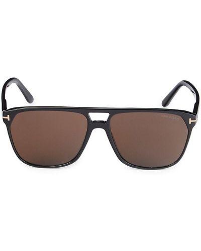 Солнцезащитные очки классические - черные Tom Ford