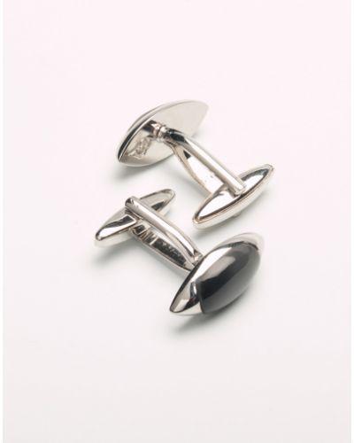 Запонки из серебра серебряный Elizabeth Parker