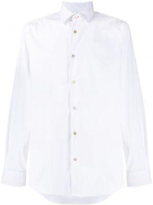 Классическая рубашка с воротником узкого кроя на пуговицах Paul Smith