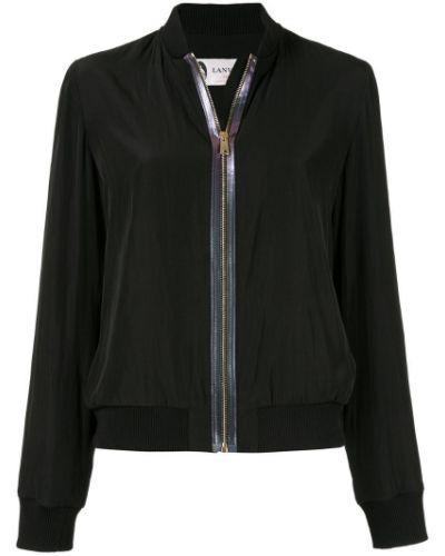 Черная куртка Lanvin
