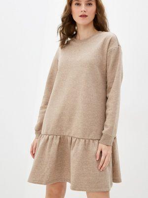 Платье - бежевое Pieces