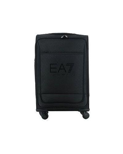 Черный чемодан Ea7