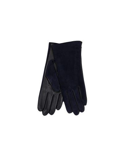 Перчатки синий темно-синий Agnelle