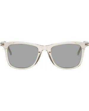Okulary przeciwsłoneczne srebro biały Saint Laurent