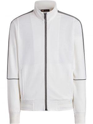 Biała bluza wełniana Z Zegna