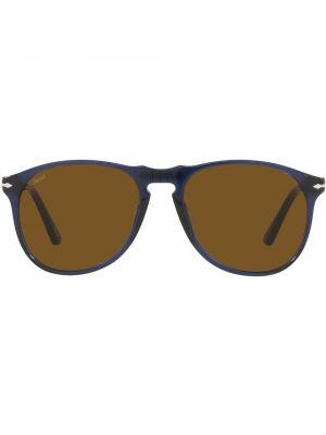 Okulary srebrne - niebieskie Persol