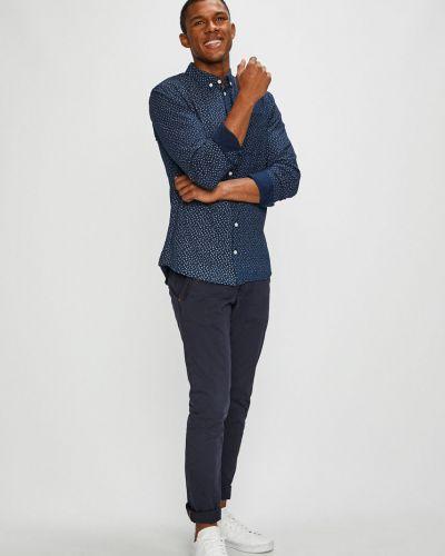 Рубашка с длинным рукавом с карманами тонкая Blend
