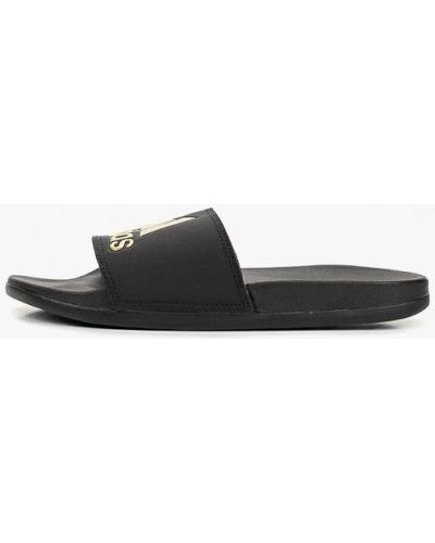 Сланцы черные Adidas