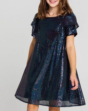 Платье с рукавами с пайетками на торжество Playtoday Tween