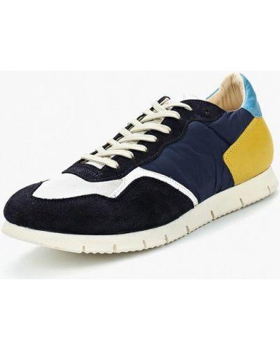 Синие кроссовки замшевые Nobrand