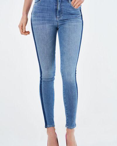 Зауженные джинсы-скинни с карманами на молнии Miss Sixty