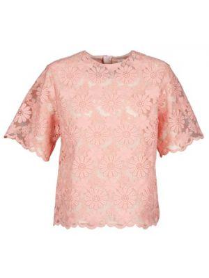 Różowa bluzka Manoush