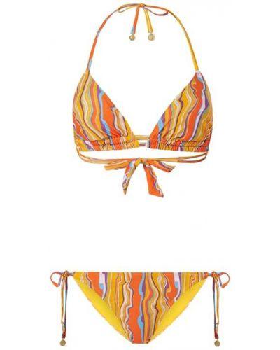 Pomarańczowy bikini Shiwi