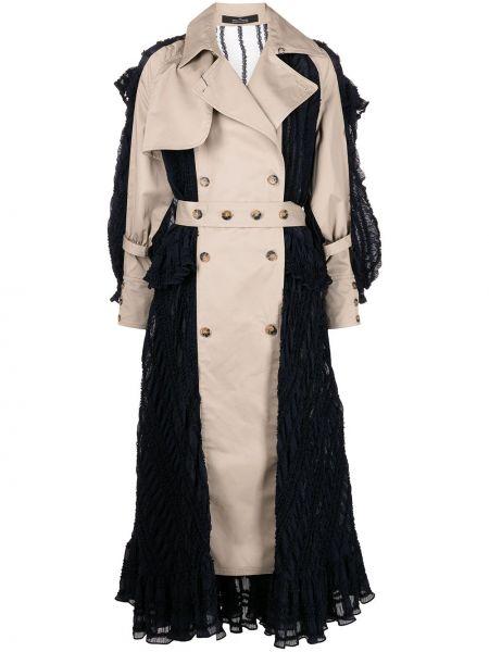 Beżowa sukienka bawełniana Rokh