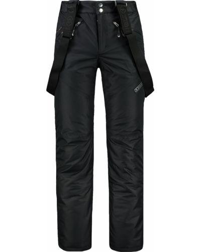 Czarne spodnie materiałowe Trimm
