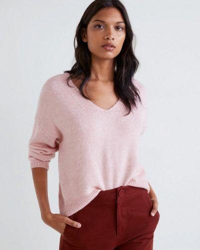 Розовый пуловер Mango