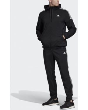 Спортивный костюм черный зауженный Adidas
