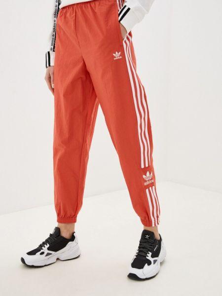 Спортивные брюки весенний красный Adidas Originals