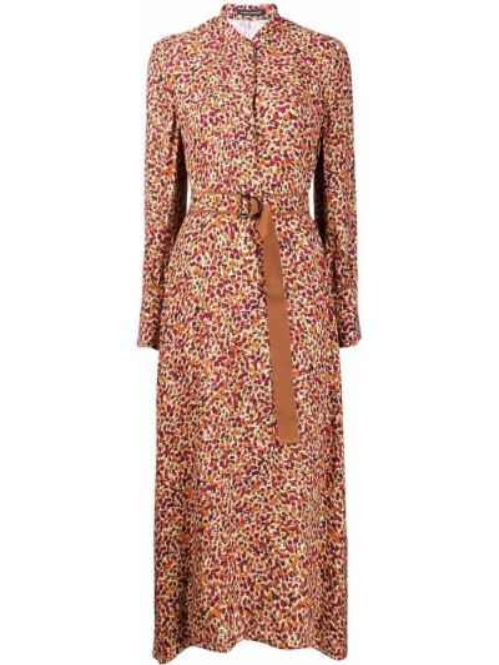 Платье макси длинное - розовое Luisa Cerano