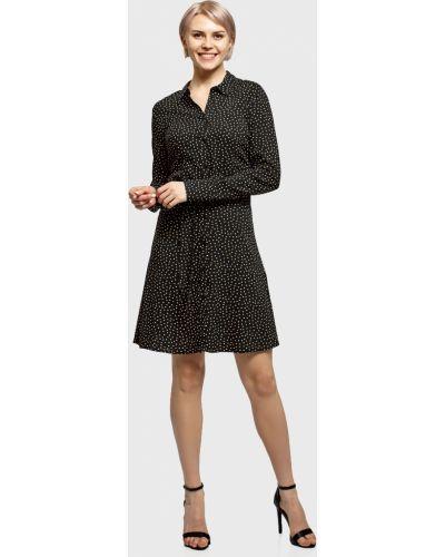 Платье - черное Oodji
