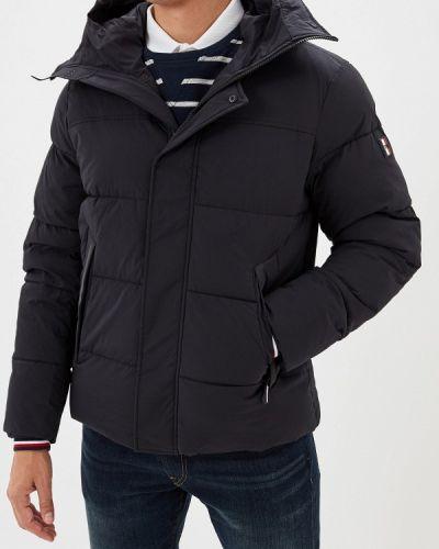 Зимняя куртка утепленная черная Tommy Hilfiger