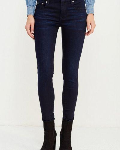 Синие джинсы-скинни Polo Ralph Lauren
