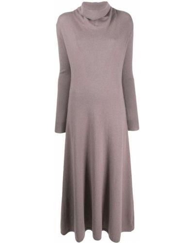 Платье макси длинное - розовое Agnona