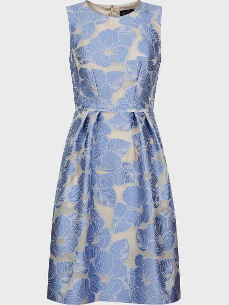 Шелковое платье на молнии Luisa Spagnoli