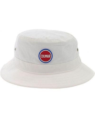 Biała czapka boho Colmar