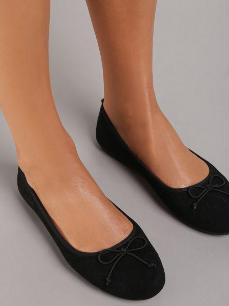 Czarne balerinki Renee