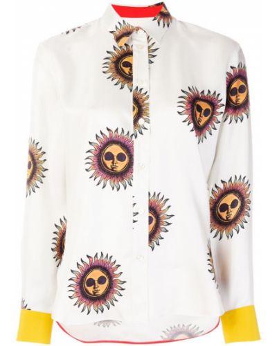 Классическая рубашка с длинным рукавом с принтом Paul Smith
