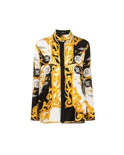 Шелковая блузка Versace