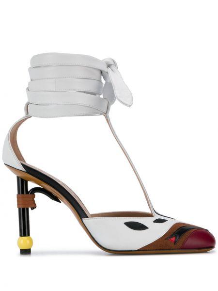 Туфли на каблуке на высоком каблуке лодочки Lanvin