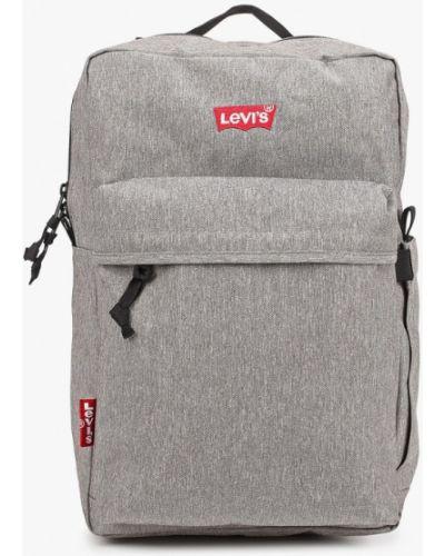 Серый текстильный городской рюкзак Levi's®