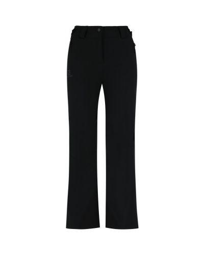 Черные утепленные брюки свободного кроя Salomon
