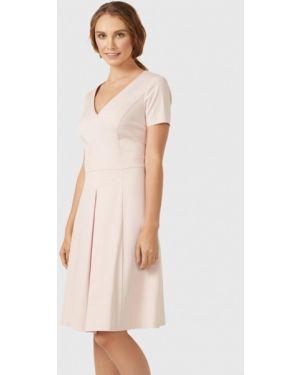 Платье - бежевое Pompa