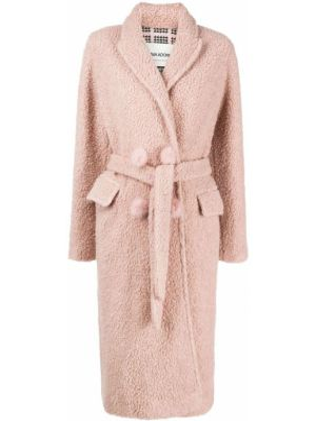 Розовая куртка с запахом Ava Adore